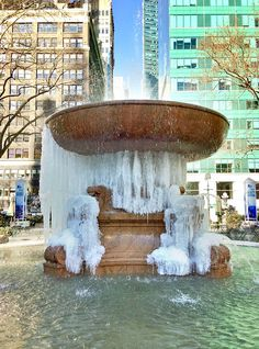 It's cold in NYC. 1/22/2013