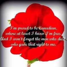 remembrance day canada moment of silence
