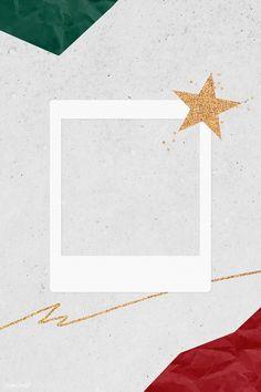 Christmas decorated blank instant photo frame vector | premium image by rawpixel.com / NingZk V. #vector #vectorart #digitalpainting #digitalartist #garphicdesign #sketch #digitaldrawing #doodle #illustrator #digitalillustration #modernart #frame Polaroid Picture Frame, Polaroid Pictures, Instagram Storie, Instagram Story Ideas, Frame Background, Christmas Background, Polaroid Template, Instant Photo, Instagram Frame Template