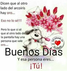 Good morning quotes in spanish Good Morning In Spanish, Good Morning Love, Good Morning Greetings, Good Day Wishes, Happy Wishes, Hug Quotes, Amor Quotes, Good Day Quotes, Morning Love Quotes