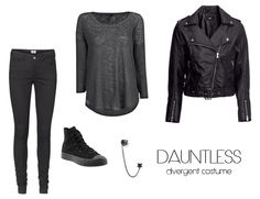 Divergent Costumes - Dauntless  This would so very frustrating to explain to anyone who hasn't read the book!