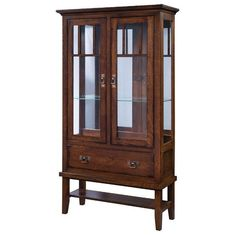 Amish Westover Curio Cabinet What will you put in the Westover? Spacious solid wood curio that's handcrafted in America. Custom built in choice of wood. Features adjustable glass shelves, interior lighting, drawer storage and open lower shelf. #curiocabinets #Amishfurniture Dining Corner, Dining Hutch, Dining Buffet, Amish Furniture, Solid Wood Furniture, Furniture Making, Curio Cabinets, Dining Room Storage, Drawer Storage