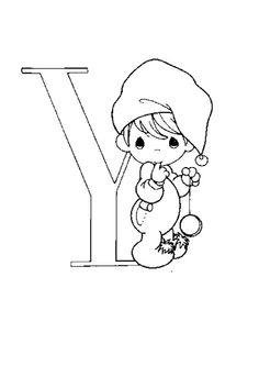 Lernübungen für kinder zu drucken. Infant Alphabete 185
