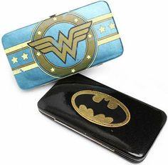 These Superhero Hinge Wallets Let You Rock Hero Logos #fashion trendhunter.com