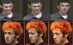 The many faces of James Holmes.