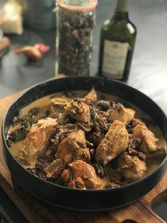 Ma recette de poularde aux morilles et vin jaune - Laurent Mariotte
