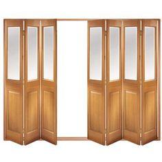 Image of Folding Doors, IFS-7MCBEV Victorian 7 Door Set, Frame & Glass