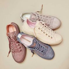 Converse All Star Ankle Sneakers, Slip On Sneakers, Platform Sneakers, Leather Sneakers, Ladies Sneakers, Converse Style, Converse Shoes, Vans, Converse Low