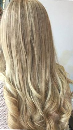 Blonde Balayage Highlights, Hairdresser, Hair Color, Long Hair Styles, Beauty, Natural Blonde Highlights, Haircolor, Long Hairstyle, Long Haircuts