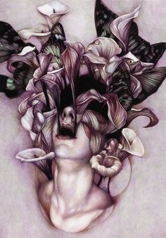 dark beautiful art inspiration