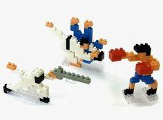 Nanoblock X Ozu Makoto Olympic Fighting Sport Judo Boxing Fencing Nbcb-003 by KAWADA. $18.00. from 12year old. ?jyudo H50×W68×D16(mm) ?boxing H50×W44×D20(mm) ?fencing H35×W80×D12(mm)