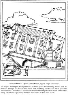 NATIONAL PARKS COLORING BOOK Sample Welcome to Dover Publications