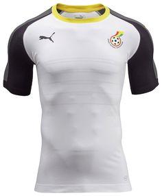 Camisas de Gana 2016-2017 Puma 2
