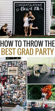 If you're graduating soon and planning on having a Graduation Party, then you NEED to see this party!