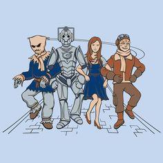 #Doctorwho #wizardofoz #crossover