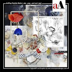 ArtPlay Palette Melic Released 08 March 2019 #annaaspnes of #aA designs #annaaspnes #digitalart #digitalartist #digitalartistry #digitalcollage #collage #digitalphotography #photocollage #art #design #artjournaling #digital #digital #scrapbooking #digitalscrapbooking #scrapbook #modernart #memorykeeping #photoshop #photoshopelements