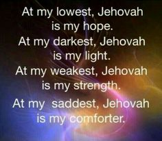 Jehovah, my Father and friend