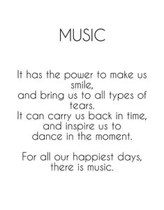 What is the sound track of your life?