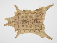 """Robe with Calumet Dancers, ca. 1750. Eastern Plains or Western Great Lakes. Musée du quai Branly, Paris, Made available by the EDF Foundation and Martine & Bruno Roger (71.1934.33.1 D) 