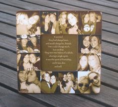 Maid of Honor Gift - Custom Collage Picture Frame