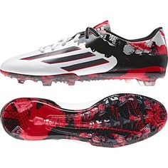 33a9ab8ad08 Adidas Messi 10.2 Firm Ground Football Boots White - Available at  Kitbag.com. Adidas