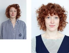 Before and after: curl inspiration