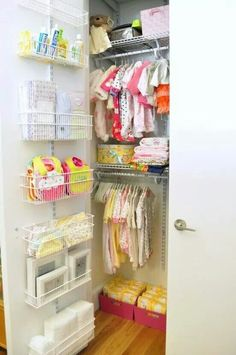 Organization- baby's room
