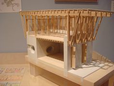 Another view of the METI Handmade School in Bangladesh by Anna Heringer and Eike Roswag (who came to CMU two years ago to talk about this!). Cross-section model.