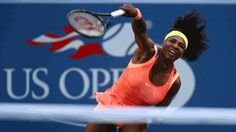 Playing far better than she did earlier in the U.S. Open as she chases a calendar-year Grand Slam, Serena Williams set up a quarter-final against older sister Venus with a 6-3, 6-3 victory over 19th-seeded Madison Keys on Sunday.