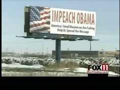 """Impeach Obama"""" Campaign Sweeping The Nation 