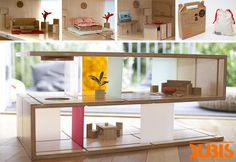 qubis haus :: a coffee table as dolls house for kids ! - now (for kids)