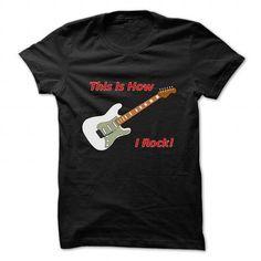 HOW I ROCK - STRAT  - #cheap gift #gift amor. GUARANTEE => https://www.sunfrog.com/Music/HOW-I-ROCK--STRAT--Black-59340289-Guys.html?68278