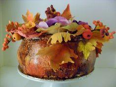 flower arrangement cake www.albenacakes.com