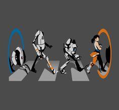 Love this portal shirt xD Video Game Art, Video Games, O Portal, Portal 2 Game, Aperture Science, Video X, Half Life, Some Games, Sad Art