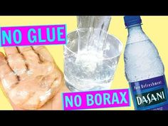 WATER SLIME  HOW TO MAKE CLEAR SLIME WITHOUT GLUE, WITHOUT BORAX! WATER SLIME RECIPES! - YouTube