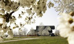 VitraHaus in spring time