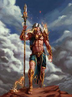 Grec, Romaine - www. Fantasy Art Men, Fantasy Warrior, Fantasy Artwork, Greek Mythology Gods, Greek Gods And Goddesses, Fantasy Character Design, Character Art, Roman Gods, Mythical Creatures Art