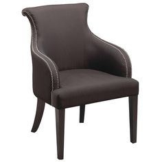 Shop for Stein World Cheri Chair, and other Living Room Chairs at Stein World in Memphis, TN. Padded accent chair with dark eggplant fabric and nailhead detailing.