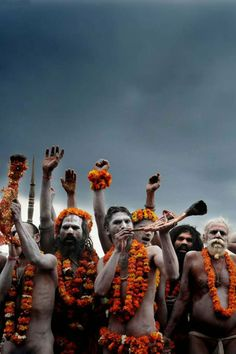 Time for me to book a trip to this, looks fascinating. Sadhus @ Kumbh Mela, India