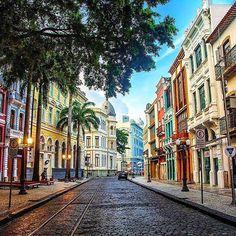 Rua do bom Jesus, Recife, Pernambuco BRASIL