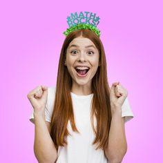 Math Rocks! Party Crown