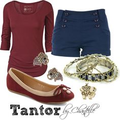 """Tantor"" by disneybychantelle ❤ liked on Polyvore"