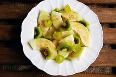 Sałatka z melona i kiwi