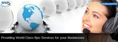Providing world Class BPO Services for your Business....