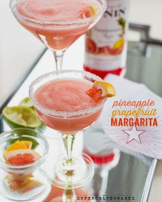 supergolden bakes: Pineapple Grapefruit Margarita