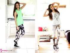 how to wear leggings with converse sneakers and top tank