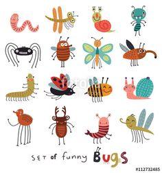 Vektor: Bugs set
