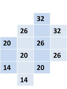 Numbers game Cross number puzzle. Trying to fill empty fields!