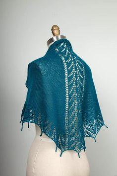 Ravelry: Blue Angel Shawl pattern by Stefanie Japel