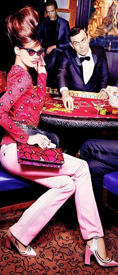 High Society- Monte Carlo Luxury- Rianne Ten Haken By Ellen Von Unwerth For Madame Figaro- LadyLuxuryDesigns